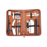 Royce Leather Travel & Groom Kit - 507-TAN-5