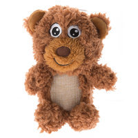 Top Paw® Plush Sherpa Bear Dog Toy