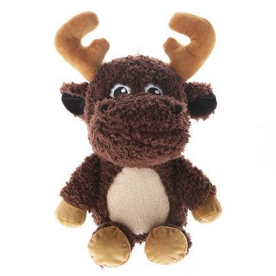 Top Paw® Plush Sherpa Moose Dog Toy size: Large