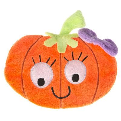 Thrills & Chills Thrills and Chills, Pet Halloween Flattie Pumpkin Dog Toy