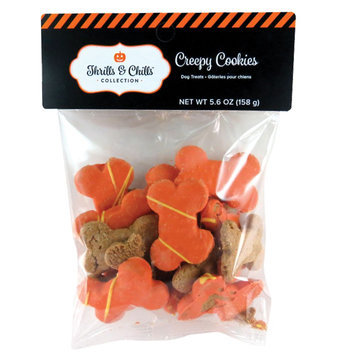Thrills & Chills Thrills and Chills, Pet Halloween Creepy Cookies Dog Treat size: 5.6 Oz