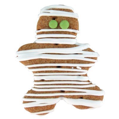 Thrills & Chills Thrills and Chills, Pet Halloween Mummy Dog Treat size: 1 Count