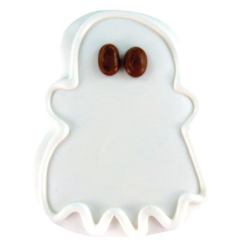 Thrills & Chills Thrills and Chills, Pet Halloween Ghost Dog Treat size: 1 Count