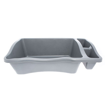 Whisker City® 2 Compartment Litter Pan size: 34.3