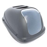 Whisker City® Hooded Cat Litter Pan size: 18.8