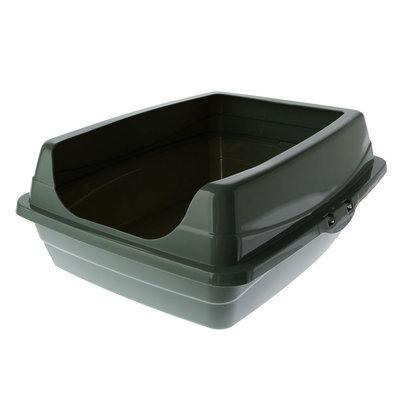 Grreat Choice® Open Rim Litter Pan size: 19.3