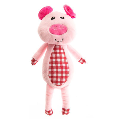 Top Paw® Plush Pig Dog Toy