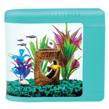 Top Fin® Fish Eye View Kit 2-Gallon Tank, Blue