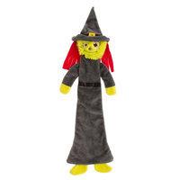 Thrills & Chills Thrills and Chills, Pet Halloween Villains Flattie Witch Dog Toy