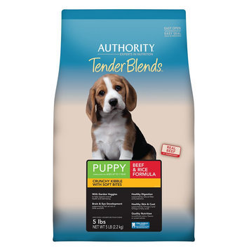 Authority® Tender Blends Puppy Food - Beef and Rice size: 5 Lb