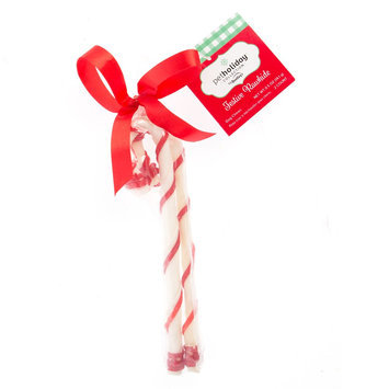 Pet Holiday, Dentley's® Festive Rawhide Cane Dog Treat size: 2 Count