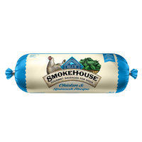 Blue Buffalo Blue, Smokehouse Gourmet Sausage Rolls Dog Food - Natural, Chicken and Spinach size: 2.25 Lb