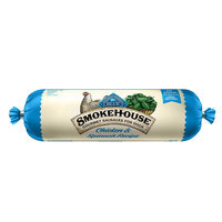Blue Buffalo Blue, Smokehouse Gourmet Sausage Rolls Dog Food - Natural, Chicken and Spinach size: 1 Lb