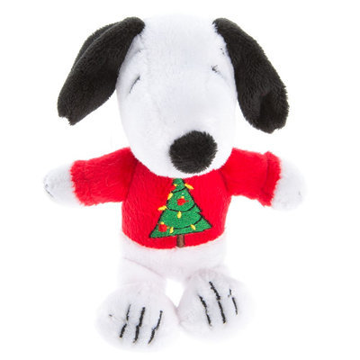 Peanuts® Pet Holiday Snoopy Sweater Dog Toy