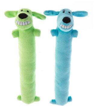 Pet Holiday, Bobo Winter 2-Pack Long Dog Toy