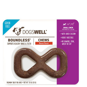 Dogswell® Boundless Small Dog Chew Treat - Grain Free, Bacon