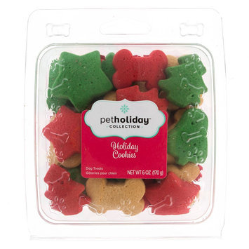 Pet Holiday, Holiday Cookies Dog Treat size: 6 Oz
