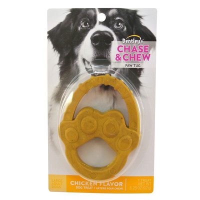 Dentley's® Chase and Chew Paw Tug Large Dog Treat - Chicken size: 1 Count