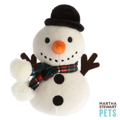 Martha Stewart Pets® Snowman Dog Toy