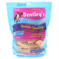 Dentley's® Rawhide Chew Chips Medium Dog Treat - Chicken size: 28 Oz