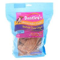 Dentley's® Rawhide Chew Chips Medium Dog Treat - Peanut Butter size: 14 Oz
