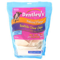Dentley's® Rawhide Chew Chips Medium Dog Treat - Natural size: 28 Oz