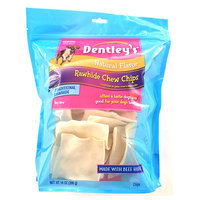 Dentley's® Rawhide Chew Chips Medium Dog Treat - Natural size: 14 Oz