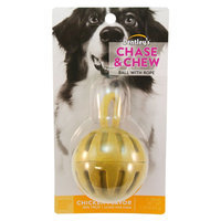 Dentley's® Chase and Chew Ball with Rope Large Dog Treat - Chicken size: 1 Count