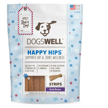 Dogswell® Happy Hips® Dog Treat - Grain Free, Hip and Joint Support, Duck size: 5 Oz