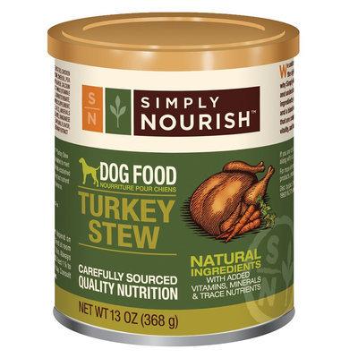 Simply Nourish, Dog Food - Natural, Turkey Stew size: 13 Oz