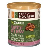Simply Nourish, Dog Food - Natural, Grain Free, Beef Stew size: 13 Oz