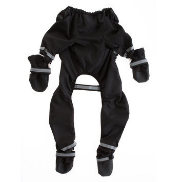 Top Paw® Snowsuit With Boots size: Large, Black