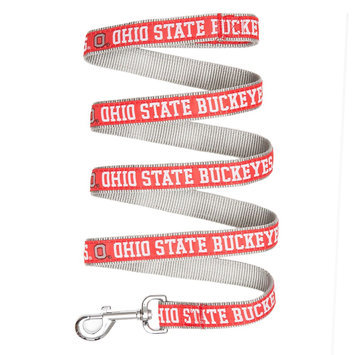 Ohio State Buckeyes Ncaa Pet Leash, Multicolor