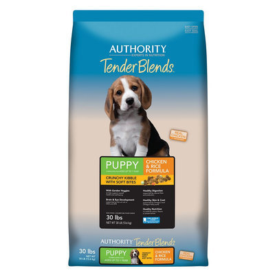 Authority® Tender Blends Puppy Food - Chicken and Rice size: 30 Lb