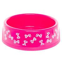 Grreat Choice® Dog Bowl size: 1.25 Pt, Pink