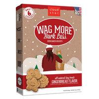 Cloud Star® Wag More Bark Less® Dog Treat - Natural, Gingerbread size: 16 Oz