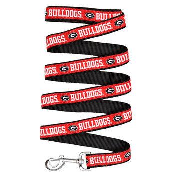 Georgia Bulldogs Ncaa Pet Leash, Multicolor