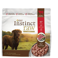 Natures Variety Instinct Nature's Variety® Instinct® Raw Bites Dog Food - Natural, Grain Free, Frozen Raw size: 7 Lb