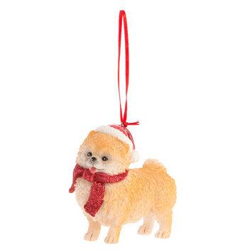 Pet Holiday, Pomeranian Holiday Ornament