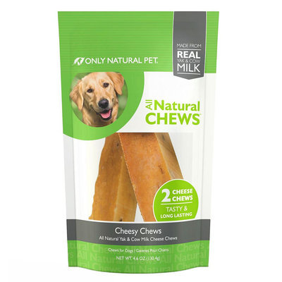Only Natural Pet All Natural Chews Dog Treat - Cheesy Chews size: 2 Count