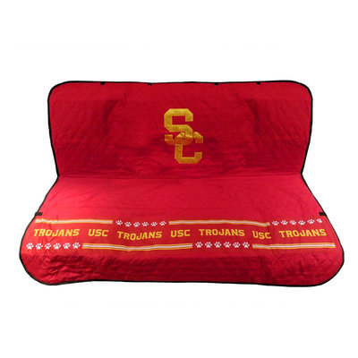 Pets First USC Trojans Ncaa Car Seat Cover size: 55
