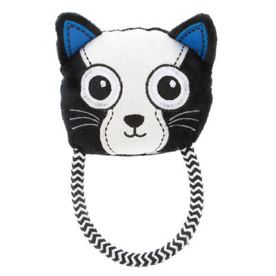 Top Paw® Cat Head Rope Dog Toy