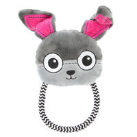 Top Paw® Bunny Head Rope Dog Toy