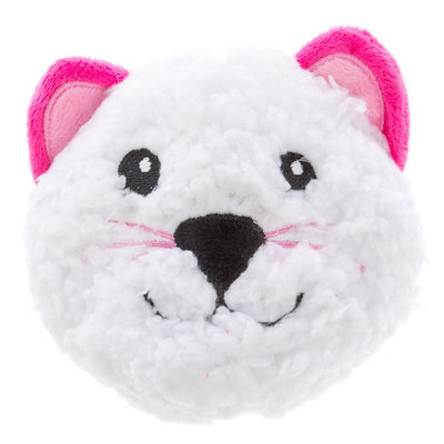 Grreat Choice® Valentine's Sherpa Cat Ball Dog Toy