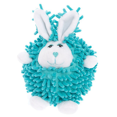 Grreat Choice® Bunny Body Ball Dog Toy, Blue