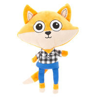 Top Paw® Fox Plush Dog Toy