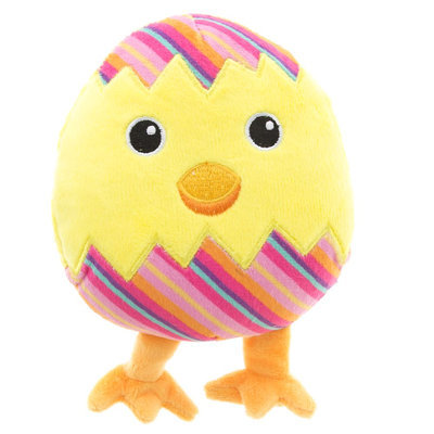 Grreat Choice® Easter Egg Chick Dog Toy