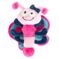 Top Paw® Butterfly Plush Dog Toy size: Small