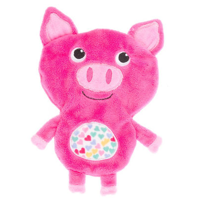 Top Paw® Easter Pig Flattie Dog Toy size: Small