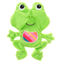 Top Paw® Easter Frog Flattie Dog Toy size: Small